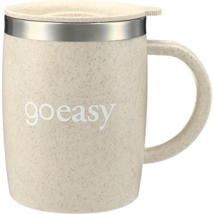Dagon Wheat Straw Mug with Stainless Liner 14oz